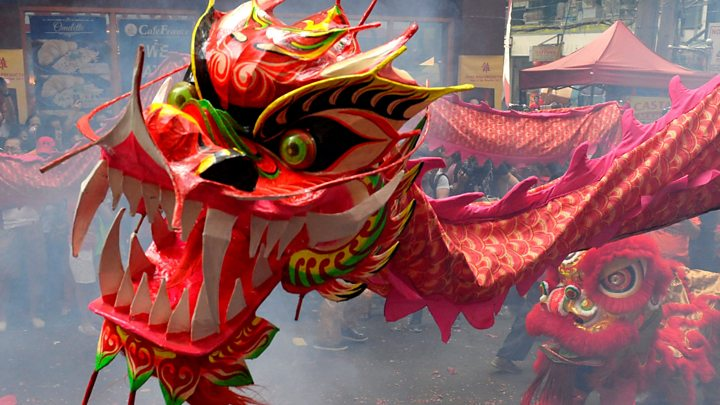 we caught up with kids celebrating chinese new year - What Is The Chinese New Year