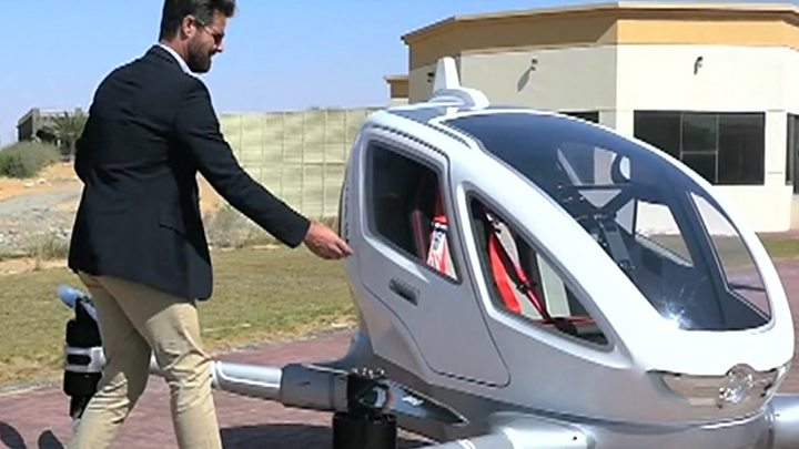 Sky taxi to fly in Dubai 'from July'
