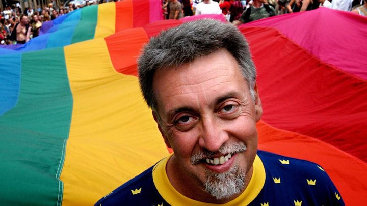 Biografi Profil Biodata Gilbert Baker ギルバート ベイカー Biography Biografia Biographie - Creator the Rainbow Flag