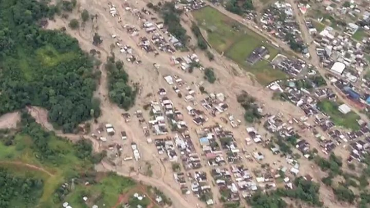 Colombia landslides: Over 200 die in Putumayo floods