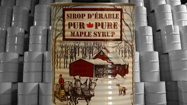 904057e15c9 Quebec s maple syrup producers seeking global domination - BBC News