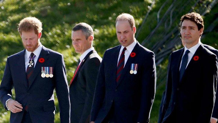 Vimy Ridge: Royals commemorate defining WW1 battle