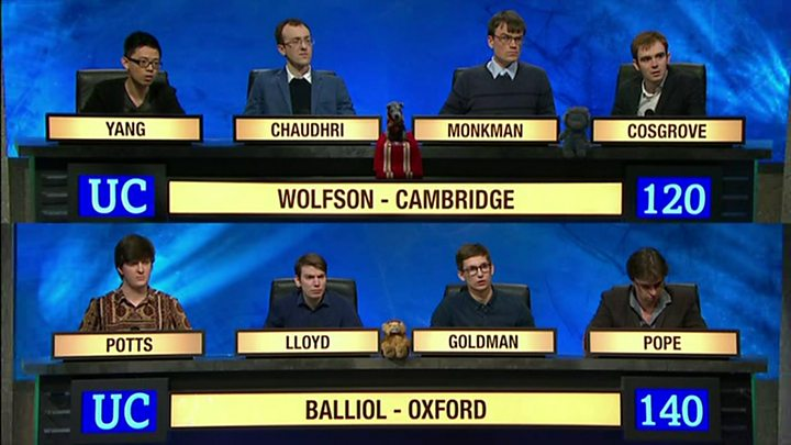 Monkmania is back! University Challenge stars get own show