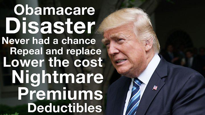 Trump to senators: Cancel holiday until Obamacare repealed
