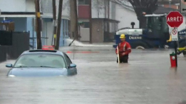 Four feared dead in British Columbia and Quebec floods