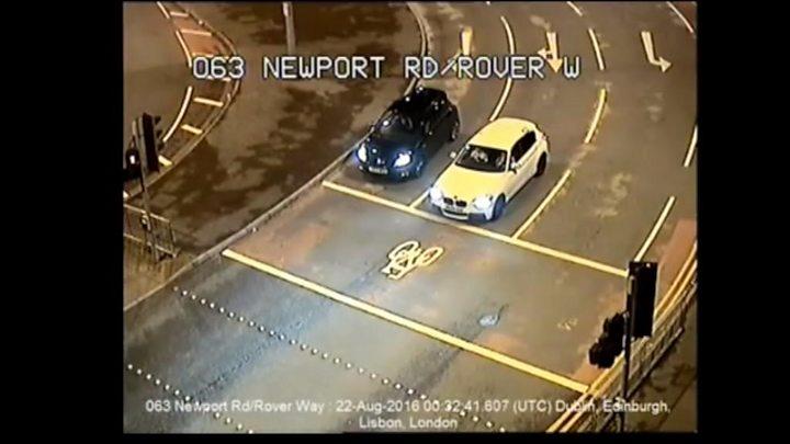 Adamsdown Car Crash