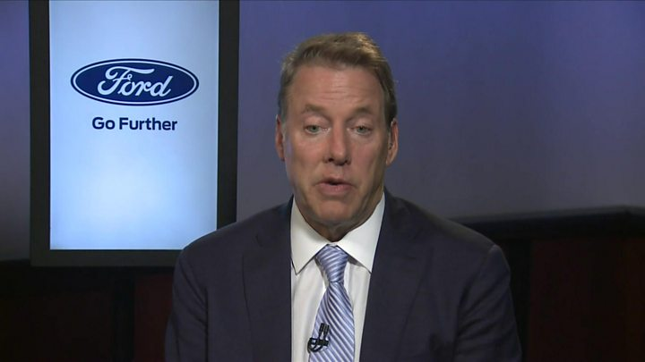 Ford chair denies that he fired its chief executive