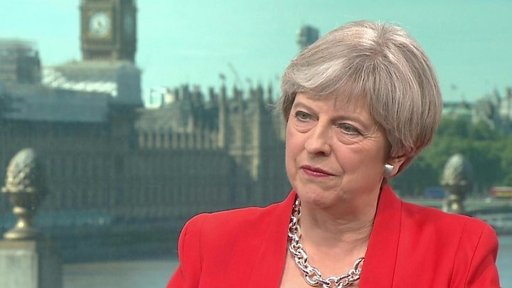 Conservative amicable caring appropriation cap: Theresa May defends changes