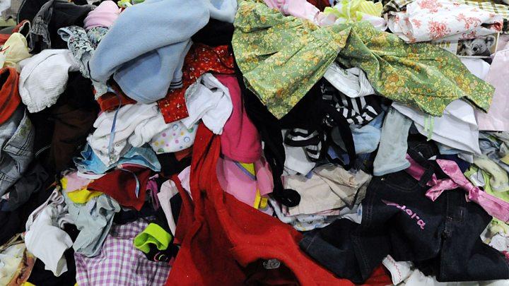 World's 'cast-off clothes' capital