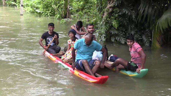 Image result for Sri Lanka floods: Nearly 500,000 displaced as death toll rises
