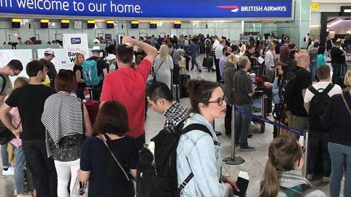 Αποτέλεσμα εικόνας για IT Crash continues to Strand BA Passengers at British Airports