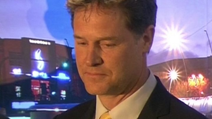Nick Clegg loses his seat in Sheffield Hallam