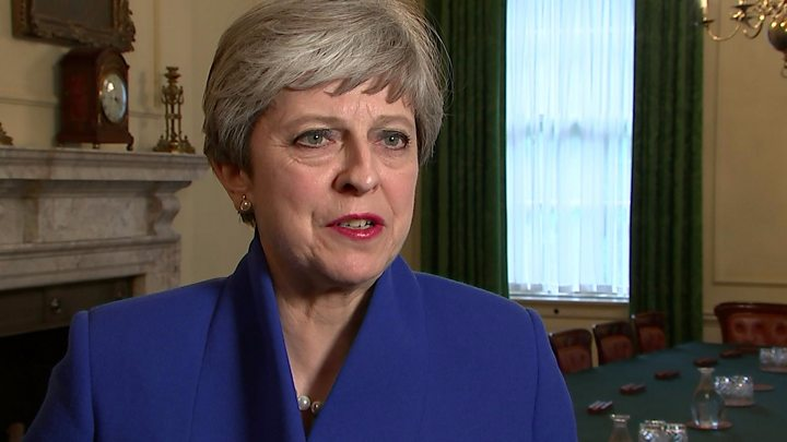 May to form 'government of certainty' with DUP backing