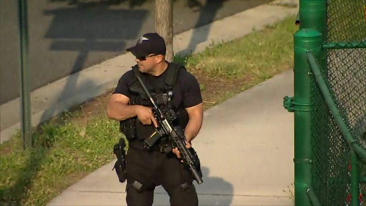 - p055wtks - Gunman dead after attacking congressmen at Virginia baseball field