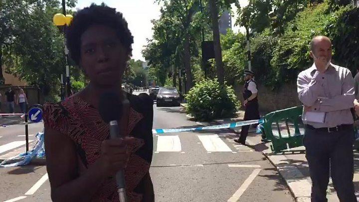 La police a protégé May de survivants en colère
