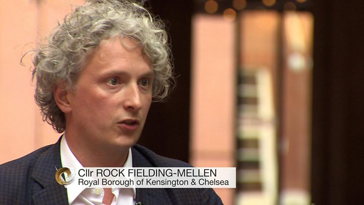 Media playback is unsupported on your device                  Media caption Kensington councillor'It could take two years to rehouse everyone from Grenfell Tower