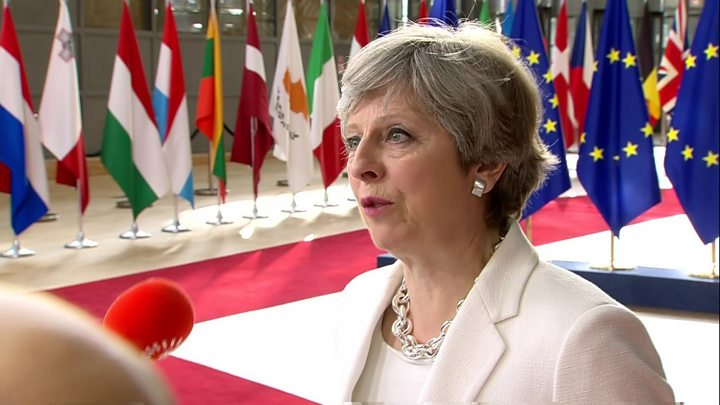 Theresa May spelling out 'settled status' plan for EU nationals after Brexit