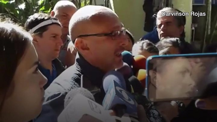Venezuelan father creates defence to president