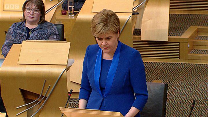 Nicola Sturgeon puts Scottish independence referendum bill on hold