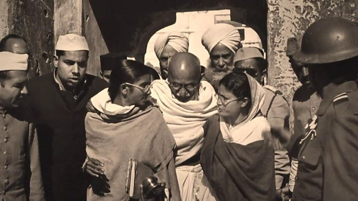 Gandhi's ashes stolen, poster vandalised on independence leader's 150th birthday