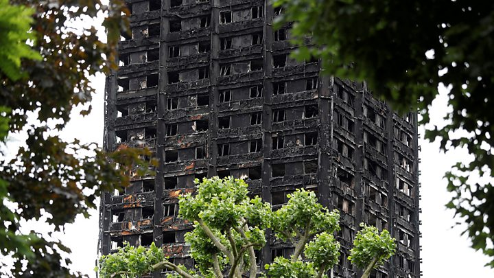 Grenfell fire: Many survivors still in hotels
