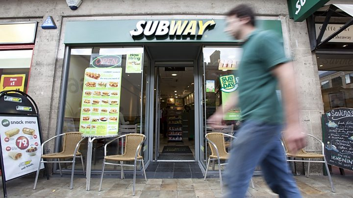 Subway: What's behind the sandwich chain's UK success?