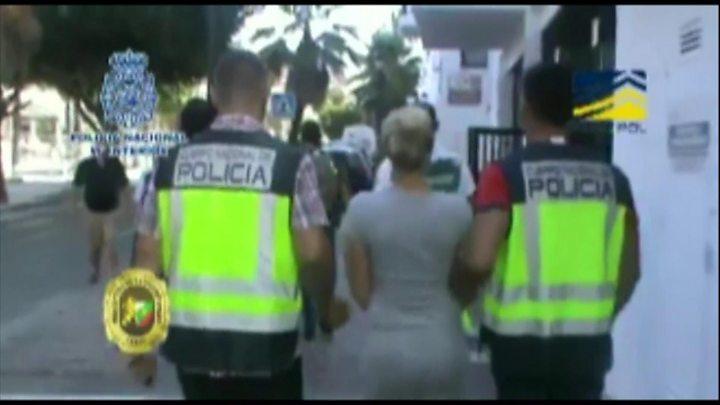 Bulgarian and Spanish police take down human trafficking ring