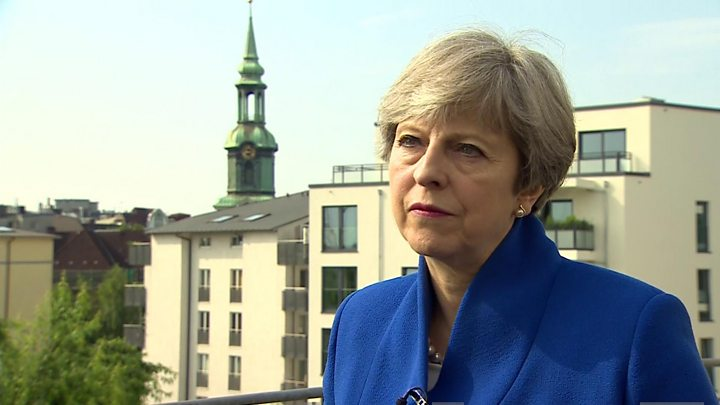 G20: Theresa May says UK will be 'bold' on world stage