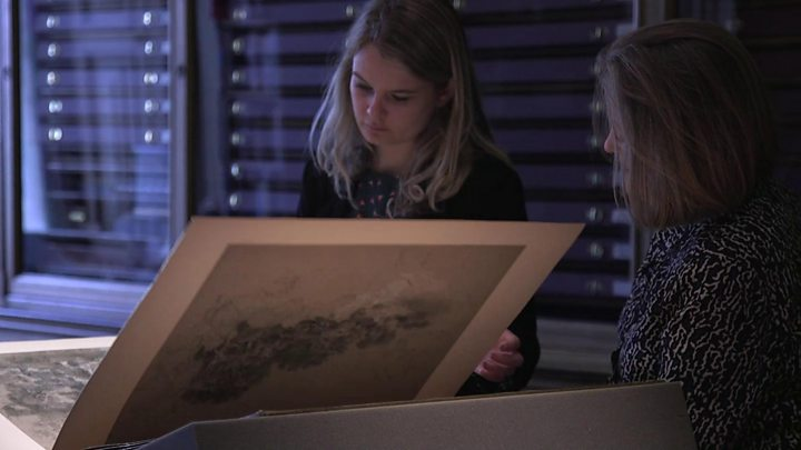 'Thrilling' Gainsborough sketches discovered
