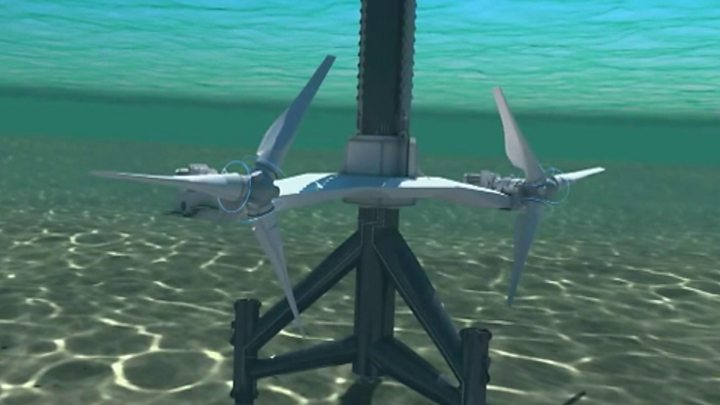 WATCH: Animation of tidal turbines