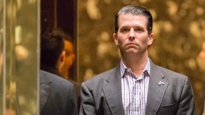 Trump 'weighed in' on son's statement about Russian meeting