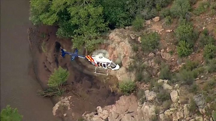 9 dead and one missing in flash flood at Arizona swimming hole