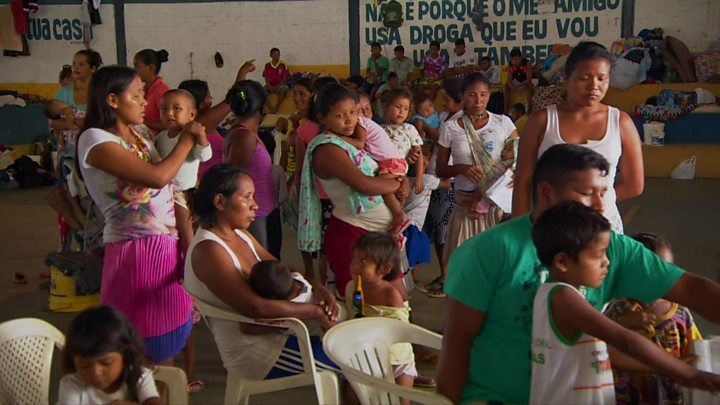 Crisis-hit Venezuelans leave for Brazil in search of new life