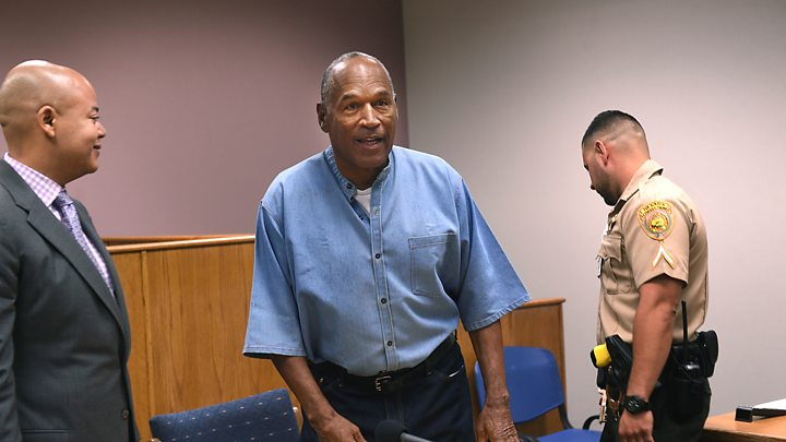 OJ Simpson released on parole: 'I've done my time'
