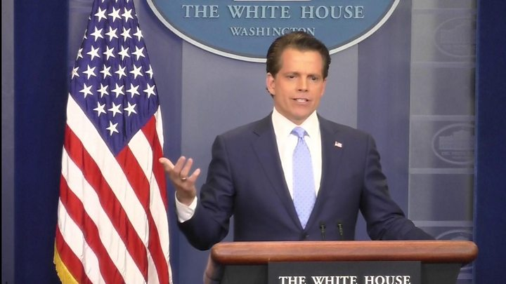 Scaramucci tells Trump 'yes,' then apologizes for past words