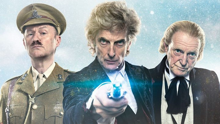 Doctor Who Christmas special: First look at Peter Capaldi's final ...