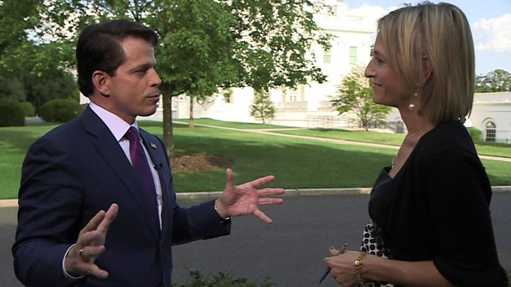 Image result for Scaramucci challenges Priebus over leaks to the press