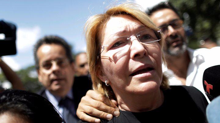 Venezuela's chief prosecutor Luisa Ortega rejects dismissal