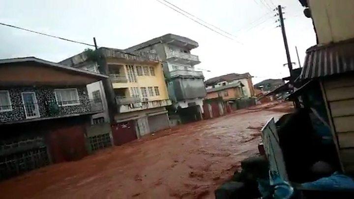 Sierra Leone mudslides: Help needed urgently - president