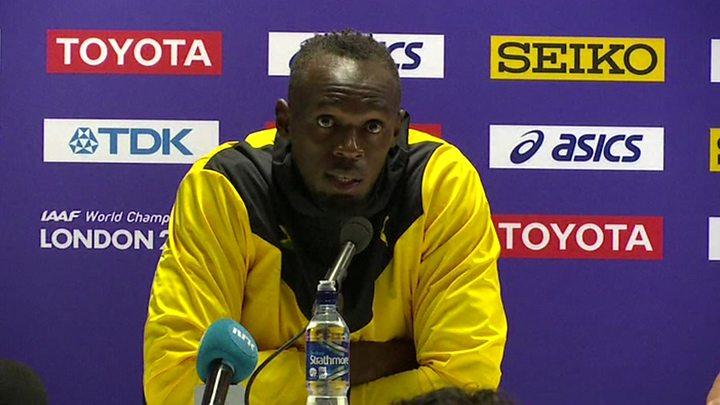 La superstar jamaïcaine Usain Bolt jouera pour Manchester United contre Barcelone