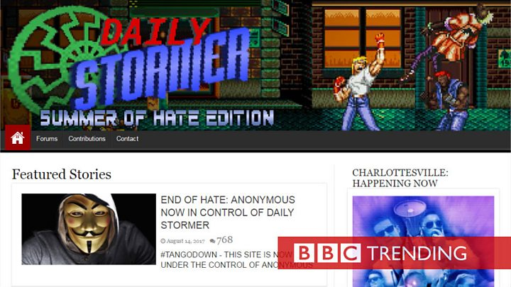 Daily Stormer: Cloudflare drops neo-Nazi site