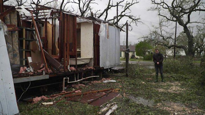 Harvey: Too poor to flee the hurricane
