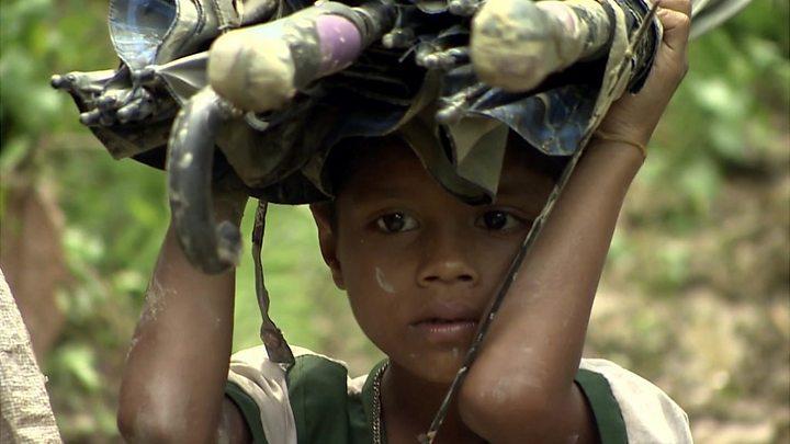 Myanmar conflict: Rohingya refugee surge hits Bangladesh