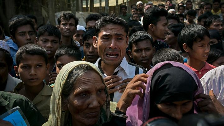Indignation et appel à la protection des musulmans Rohingyas — Violences en Birmanie