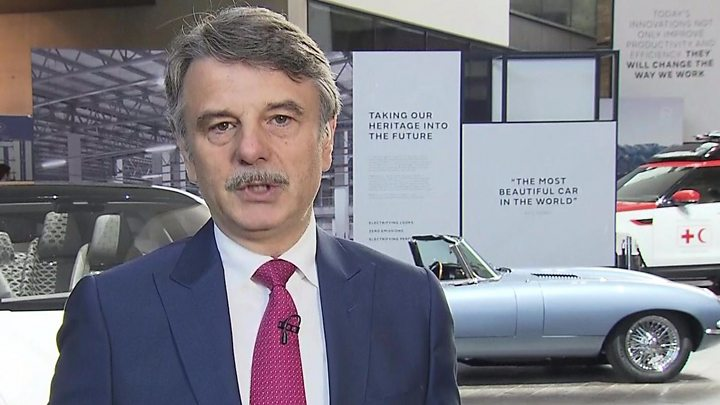 cb0edef69 Jaguar Land Rover boss says free trade is 'crucially important'