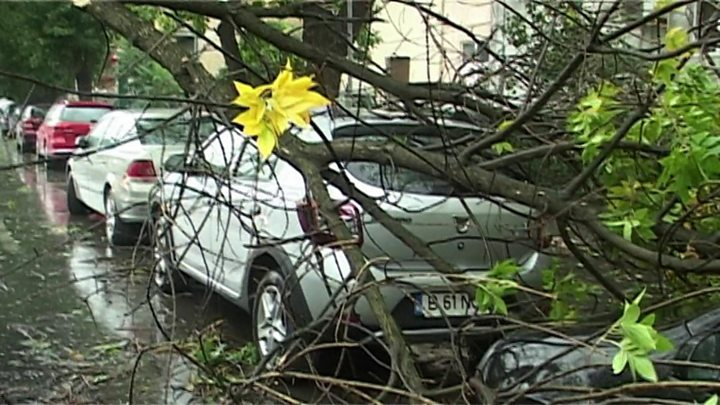 Fierce western Romania windstorm kills five, injures at least 30