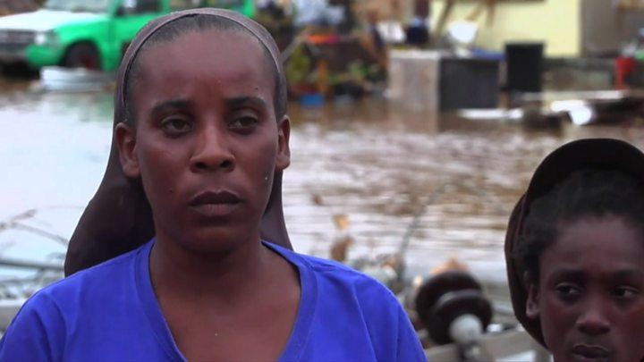 Watch: The islanders caught between hurricanes