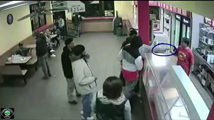 Camden City knife incident
