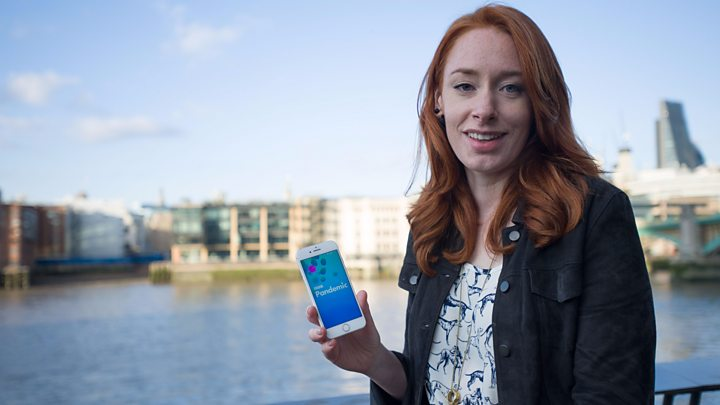 How an app could help stop a flu pandemic