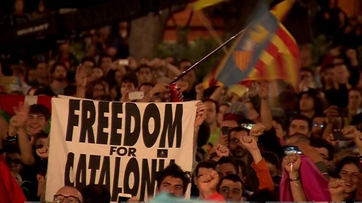 Image result for Catalonia has 'won right to statehood'